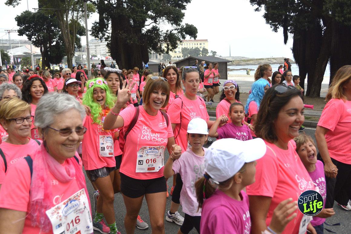 Así fue la Carrera de la Mujer de A Coruña
