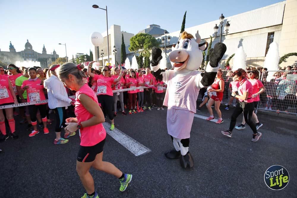 Las 50 mejores fotos de la Carrera de la Mujer de Barcelona (1)
