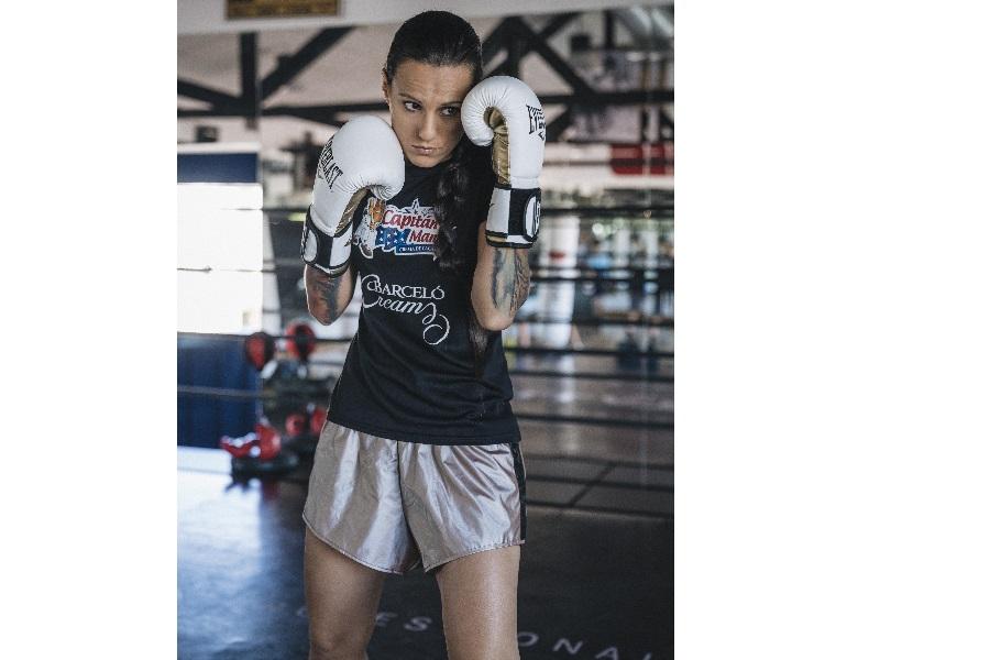 Masterclass de boxeo con Joana Pastrana