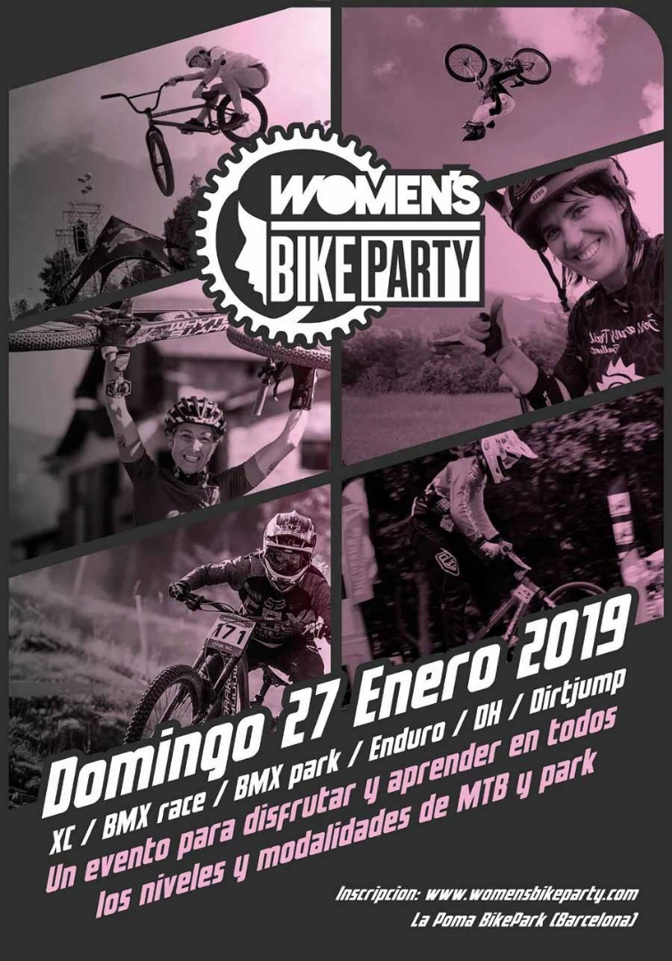 Womens Bike Party