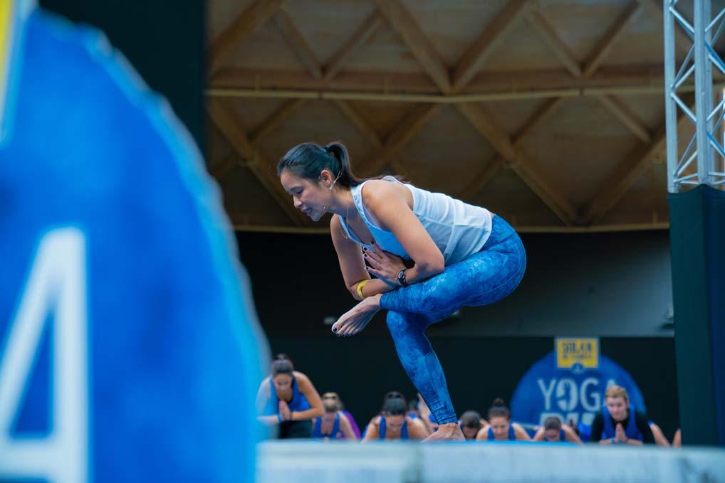 Las mejores fotos de YogaRun Barcelona (2)