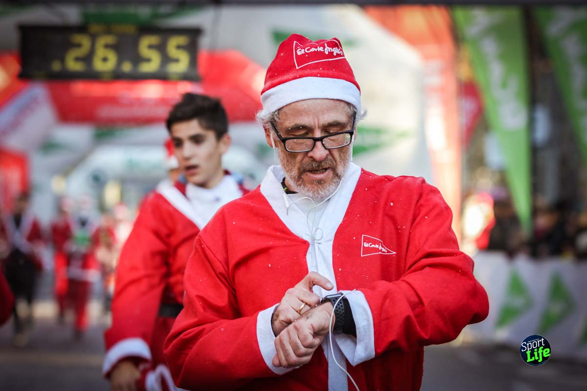 Carrera de Papá Noel 2018_Meta 9