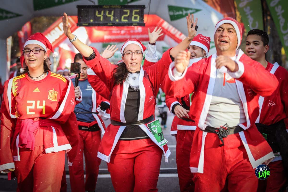Carrera de Papá Noel 2018_Meta 25