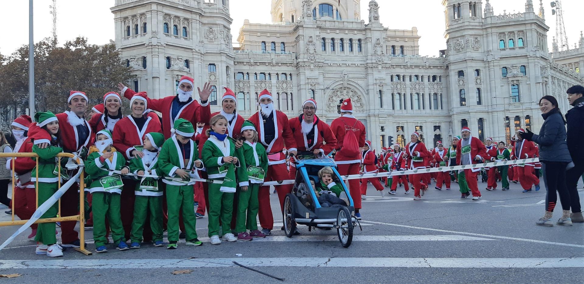 El Ambiente de la Carrera de Papá Noel 2018-7