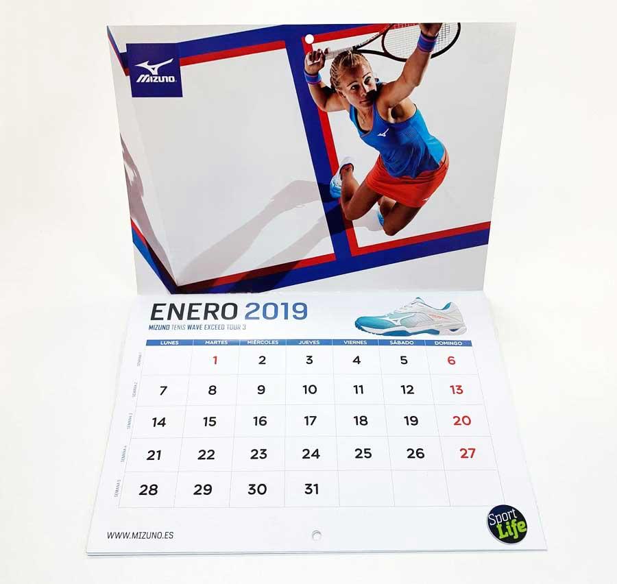 Calendario Fitness 2019.Asi El Calendario Fitness Que Regalamos Este Mes Con Sport