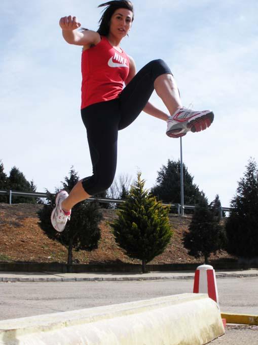 Entrenamiento de saltos para corredores