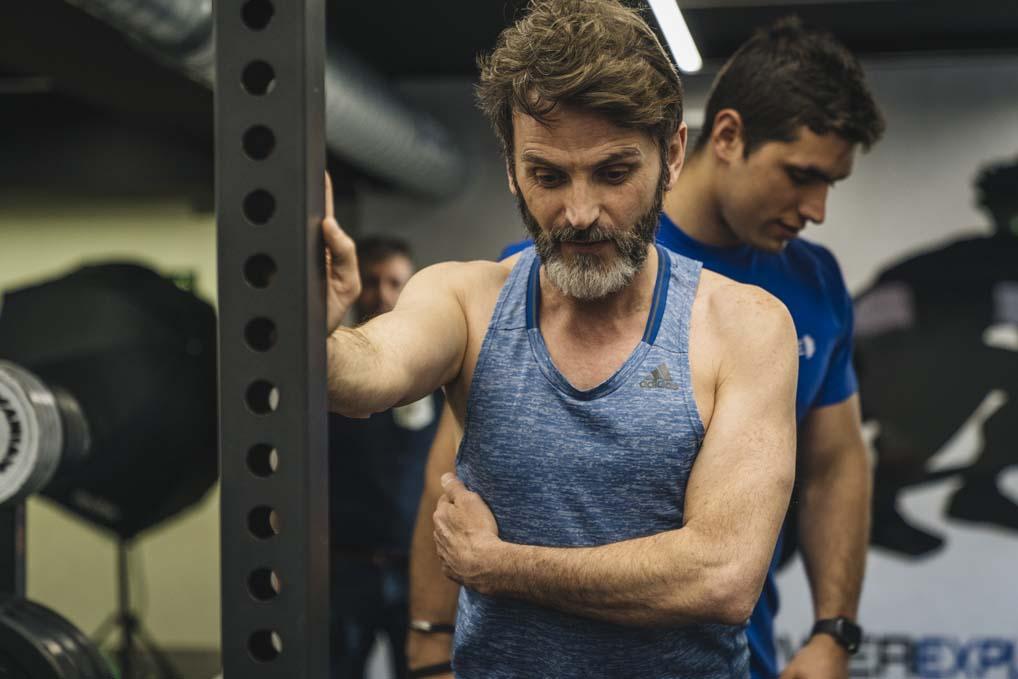 Así entrena Fernando Tejero, portada de Sport Life en mayo