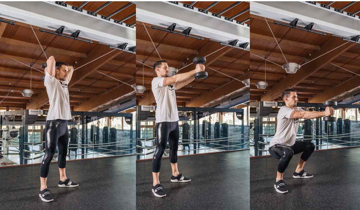 6 ejercicios con los que trabajarás todo tu cuerpo en 30 minutos