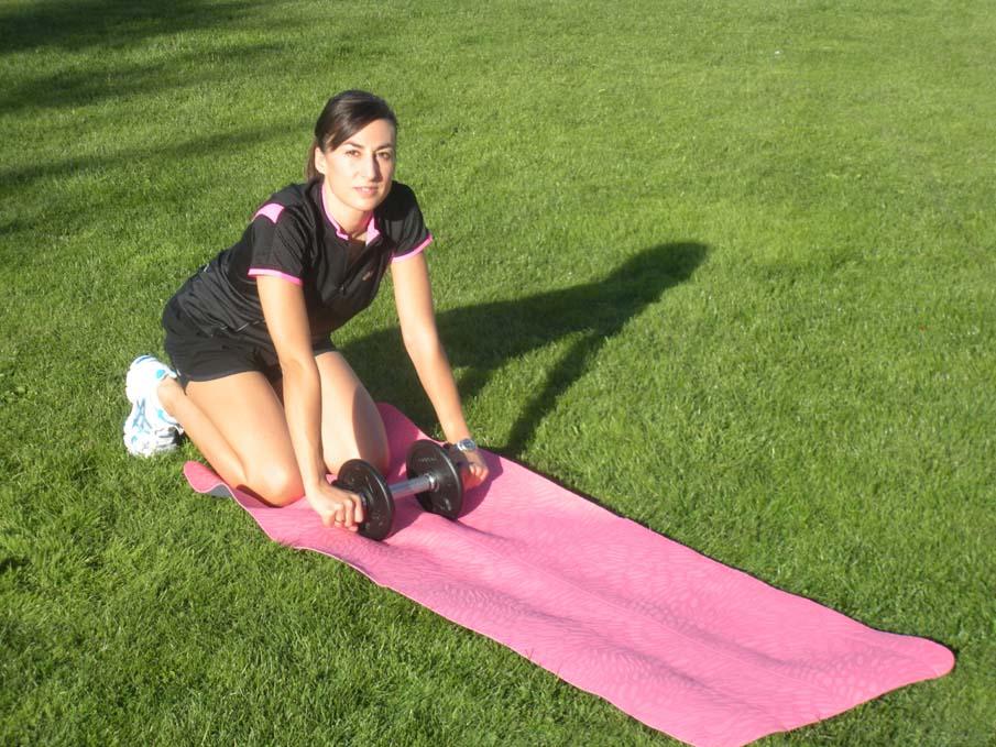 Abdominales para mejorar como corredor nivel iniciación