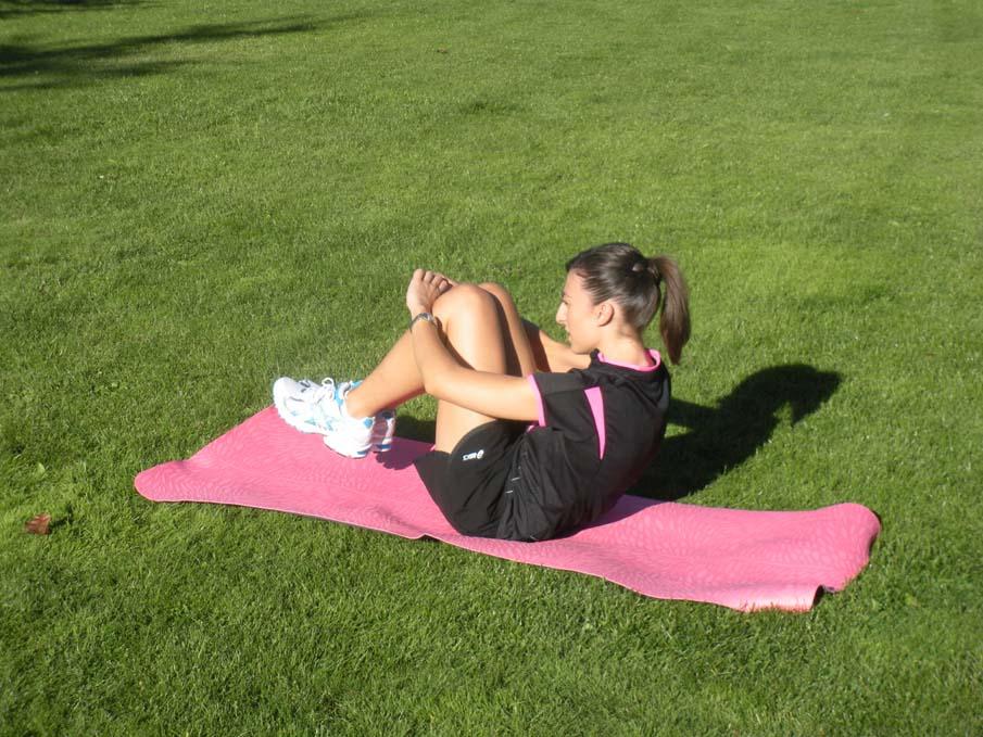 Abdominales para mejorar como corredor nivel avanzado