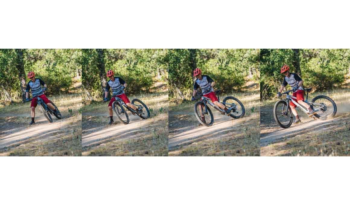 Mejora tu técnica trazando curvas con la bici