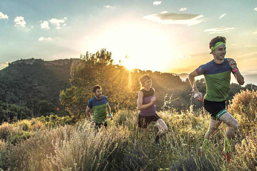 Lurbel presenta su falda de trail running