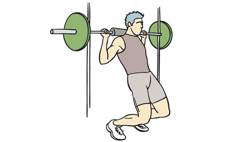 Galería ejercicios para fortalecer y estirar rodillas