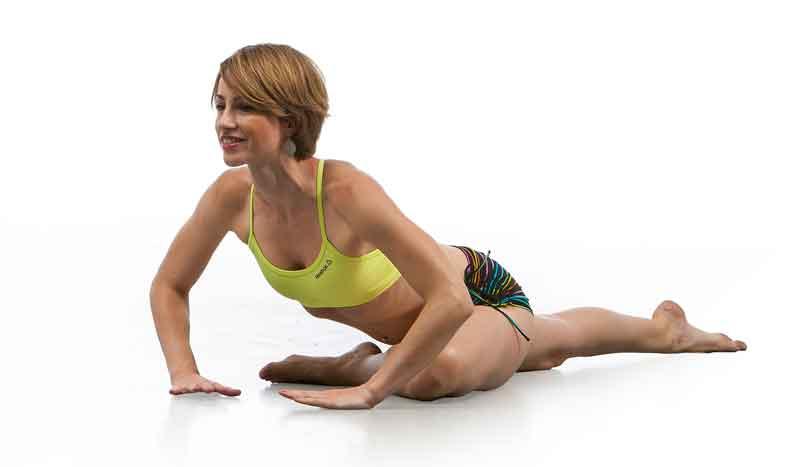 Movimientos de yoga para deportistas