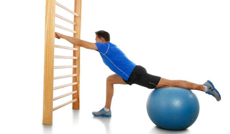 Estiramiento flexores de cadera