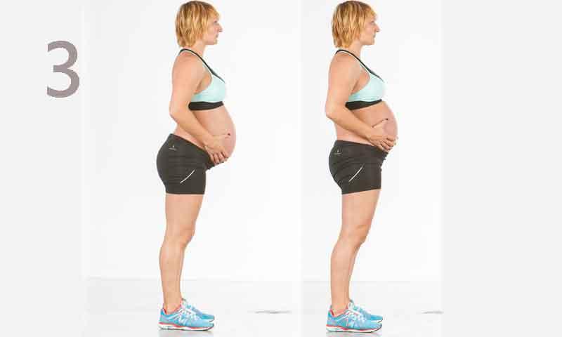 Galería plan de entrenamiento para embarazadas: tercer trimestre