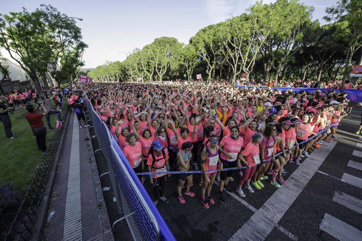 Carrera de la Mujer Madrid 2015: mejores momentos