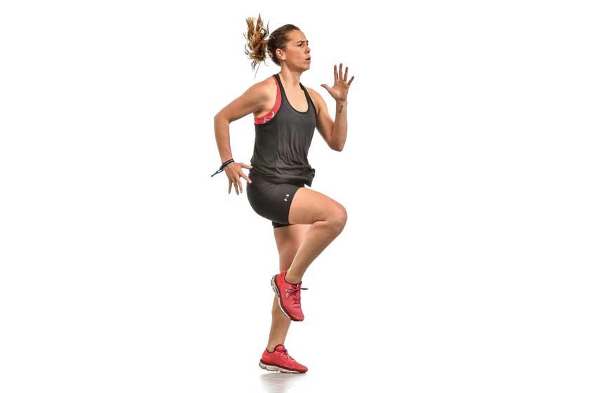 Circuito de fuerza y velocidad: cuarto entrenamiento Sport Life julio