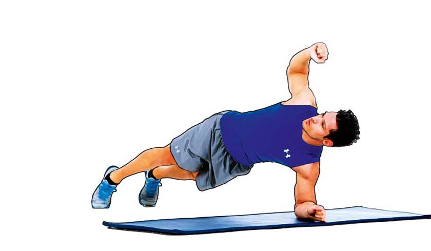 Más core y menos abdominales: 6 ejercicios para tu zona media