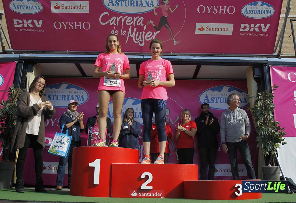 Carrera de la Mujer Barcelona entrega de premios