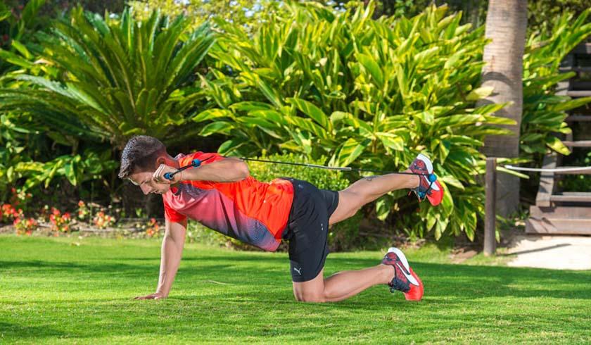 Circuito de ejercicios para equilibrar desequilibrios musculares