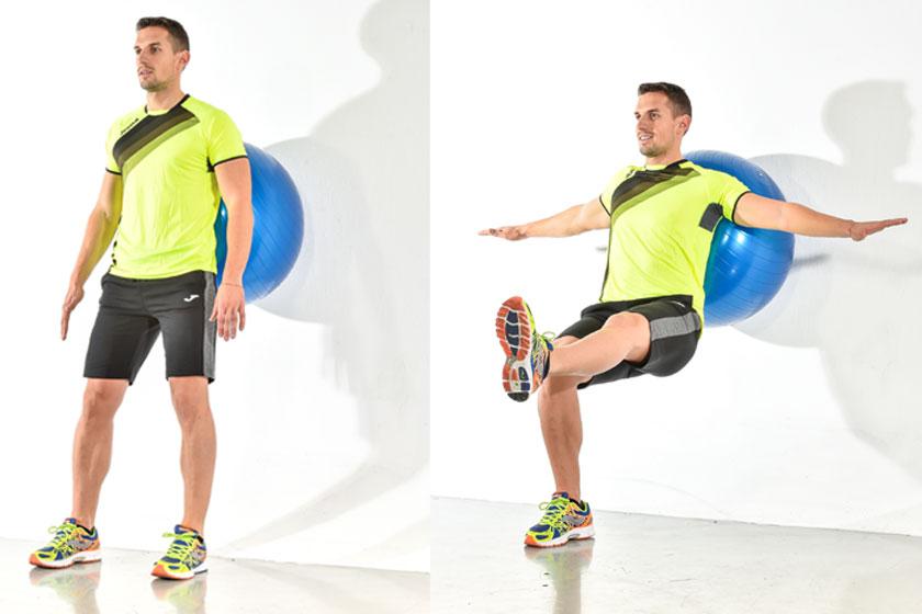 Un fitball para entrenar todo tu cuerpo