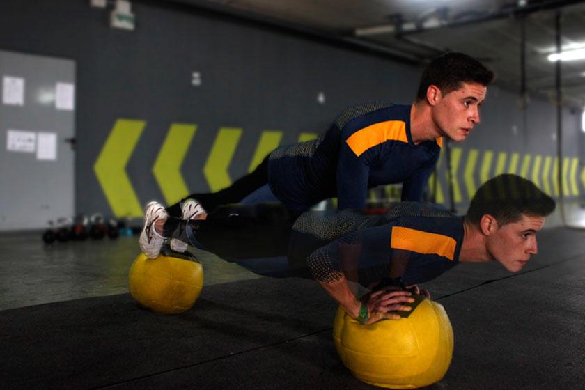 Los ejercicios con los que entrenan los bomberos forestales