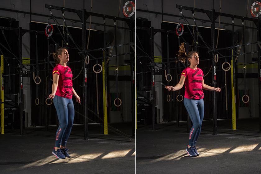 Workout fullbody: primer entrenamiento para el reto Sport Life abril
