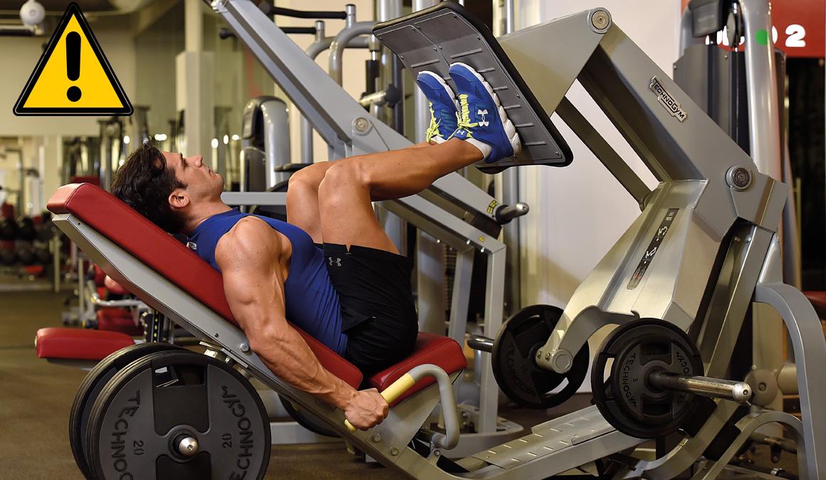 Los ejercicios para fortalecer piernas en el gimnasio
