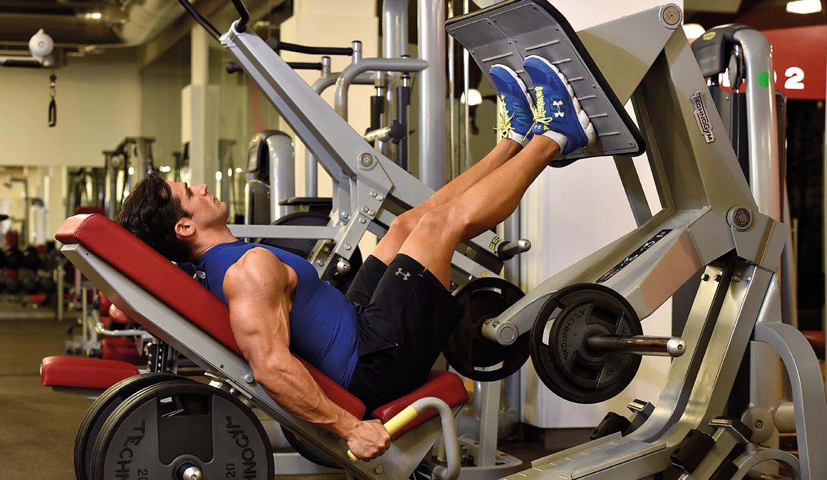 Los ejercicios para ganar fuerza y tonificar en el for Ver gimnasio