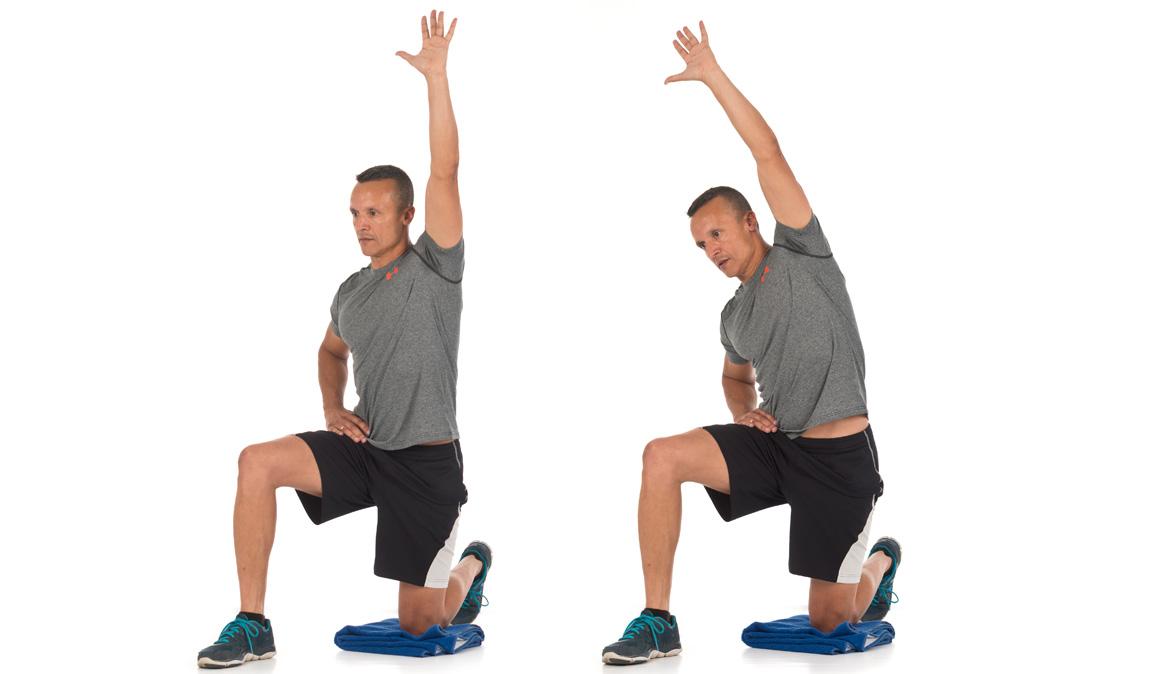 Los ejercicios para desatar cadera y glúteos