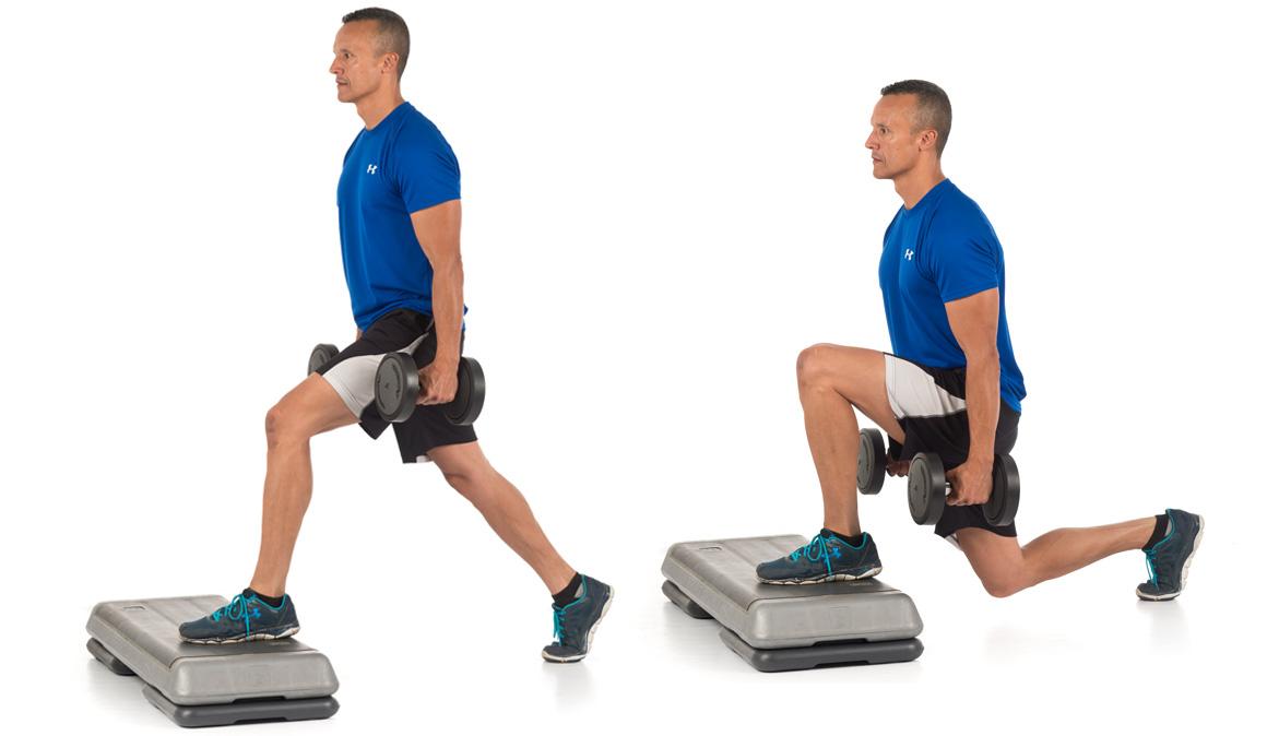 Los mejores ejercicios con zancadas para potenciar piernas y glúteos