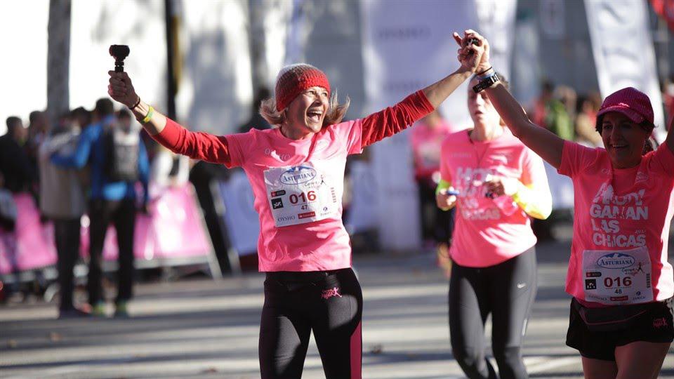 La Carrera de la Mujer de Barcelona por Araceli Segarra