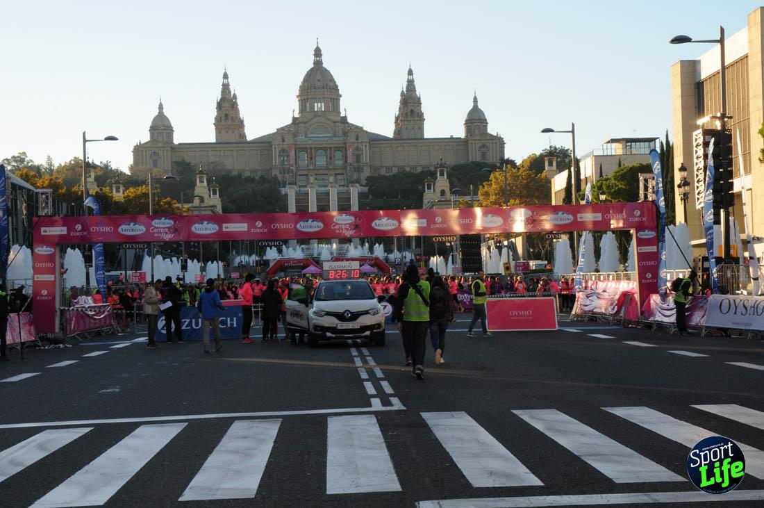 Carrera de la Mujer de Barcelona ambiente1