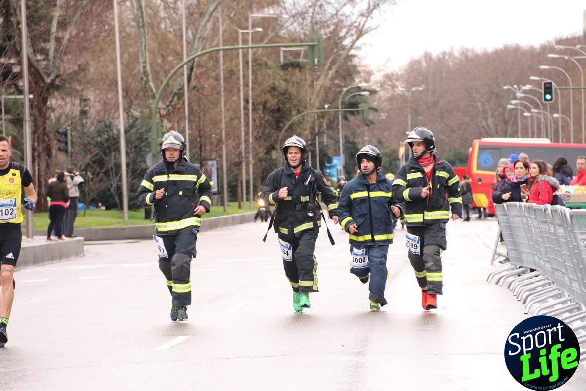 Carrera Bomberos-Hospital San Rafael: fotos del paso por el km 2