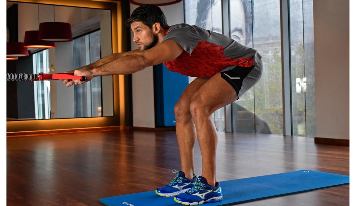 Triatlón, circuito de ejercicios de fuerza