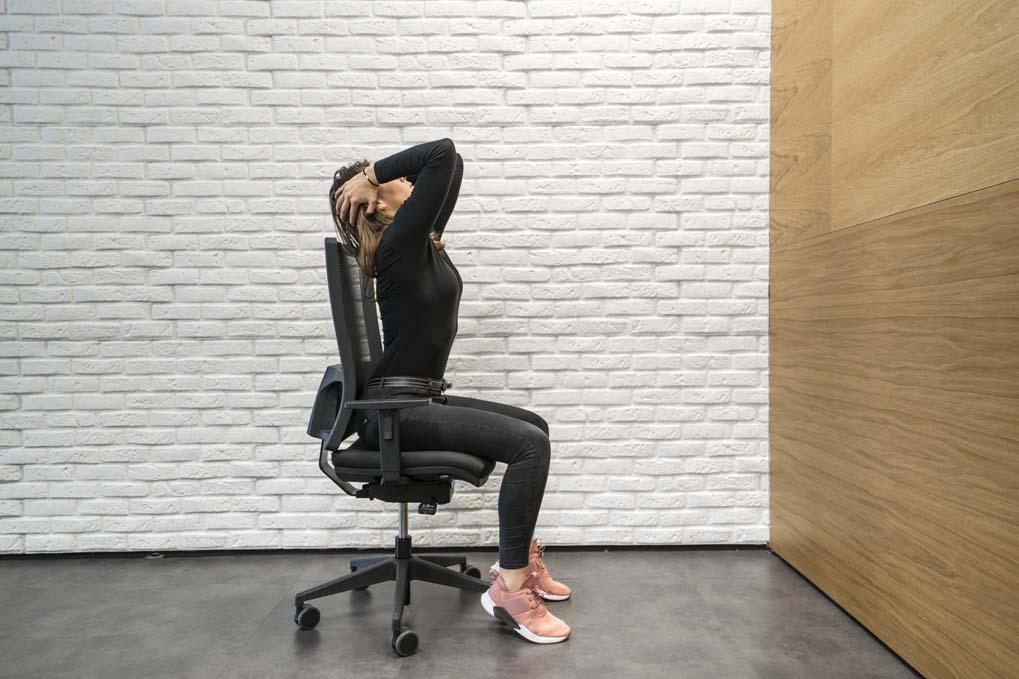 El circuito para entrenar en la oficina