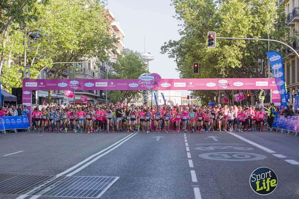 Cabeza de la Carrera de la Mujer de Madrid 2018