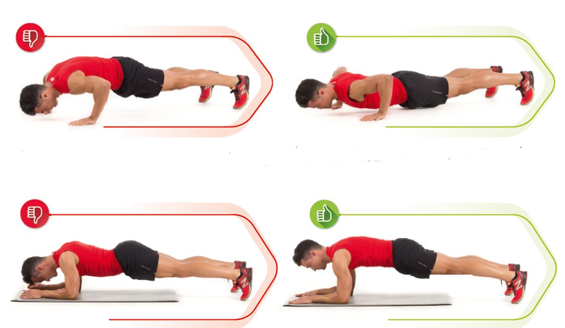 ko y ok de estos ejercicios