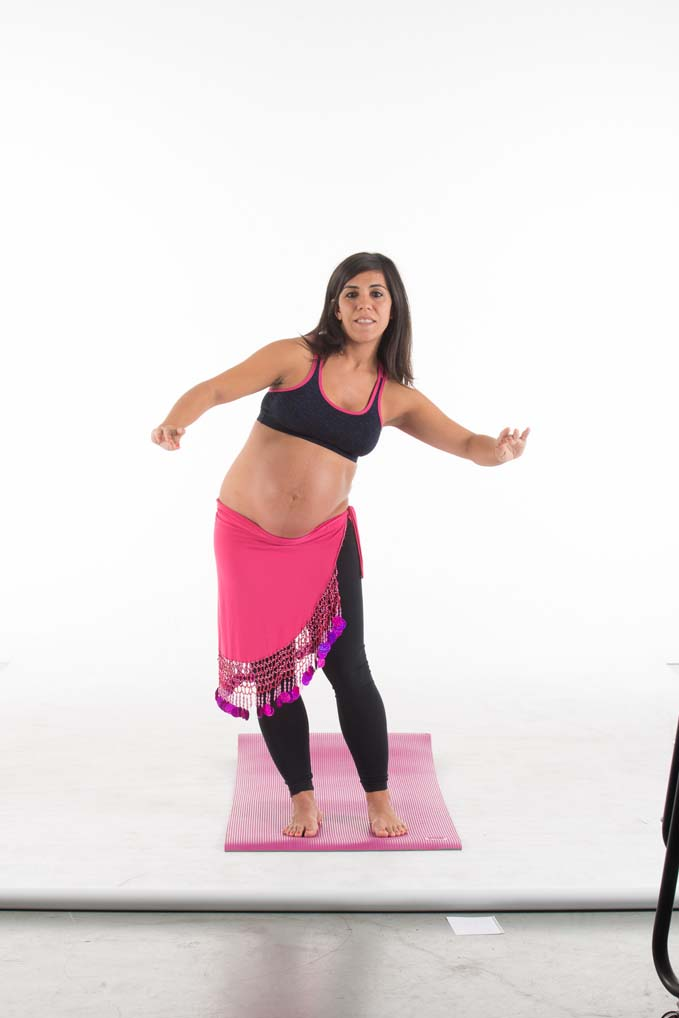 Danza del vientre para embarazadas: círculo completo