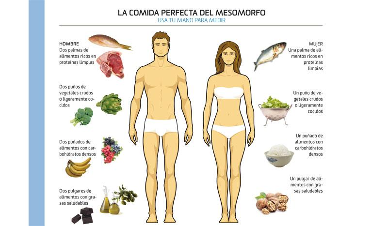 Come conforme a tu biotipo | Dietas y Nutrición | Sportlife