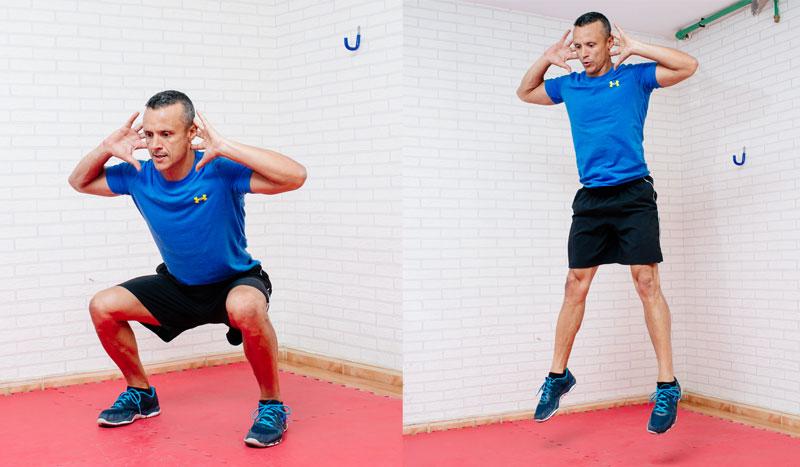 ejercicios para circuito metabolico