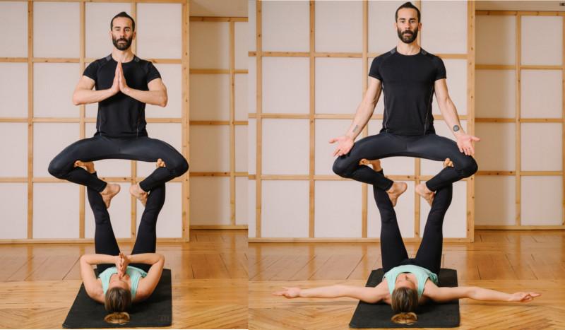 Super yogi  Es una postura terapéutica que ayuda a estirar piernas y  brazos. A diferencia de las posturas solares a4fcf4f488d0