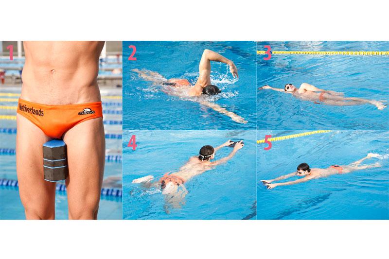 Los materiales para mejorar en la piscina sportlife for Ejercicios espalda piscina